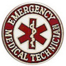 Uniform Service Pin, Emergency Medical Technician with Star of Life