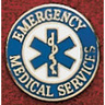 Uniform Service Pin, Emergency Medical Services with Star of Life