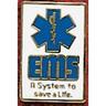 Uniform Service Pin, EMS System