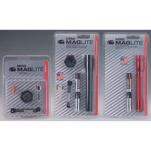 Maglite® Mini AA Flashlight Combo, Black, 5-3/4in L, 1in Head Diameter