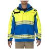 5.11® Men's Responder Hi-Visibility Parka, Royal Blue, 4XL
