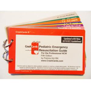 CrashCards Pocket Guide, Pediatric, 3in x 5in