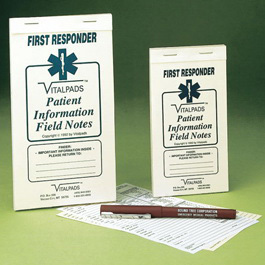 BLS Patient Information Field Notes