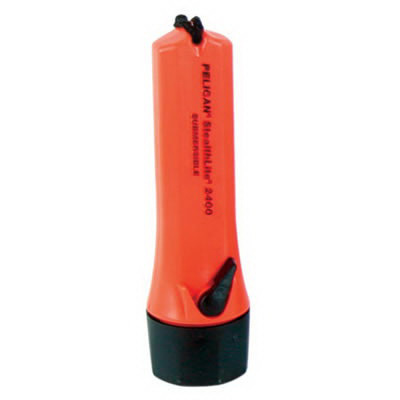 *Limited Quantity* StealthLite® Flashlight, Orange, 6-1/2in L