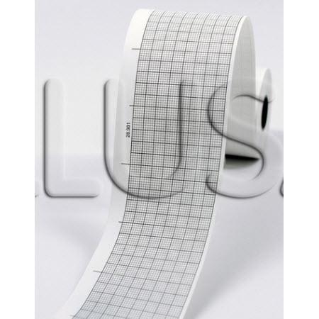 Fukuda 181-111-051 Premium ECG/EKG Recording Chart Paper, 50mm x 30m, Black Grid