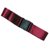 1-piece Nylon Restraint Strap with Plastic Side Release Buckle, 9ft L x 2in W, Maroon