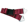 2-piece Nylon Restraint Strap with Plastic Side Release Buckle and Non-swivel Speed Clip Ends, 5ft L x 2in W, Maroon