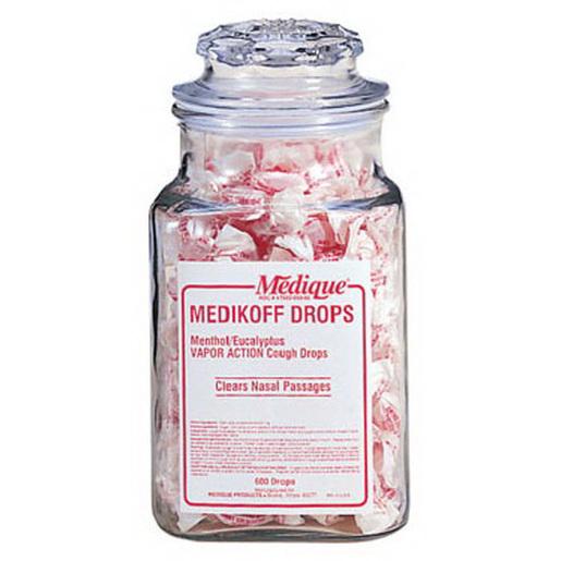 Medikoff Drops, 7.6mg, Cherry Flavor, 600 Drops