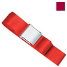1-piece Nylon Restraint Strap with Metal Cam Buckle, 9ft L x 2in W, Maroon