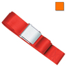 1-piece Nylon Restraint Strap with Metal Cam Buckle, 9ft L x 2in W, Orange