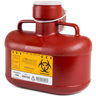 Non-Stackable Sharps Container, Red, Small Size