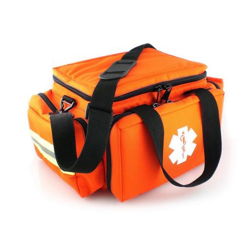 Cardiac Bag, 17.5in x 10in x 7.5in, Orange, 600 Denier Nylon