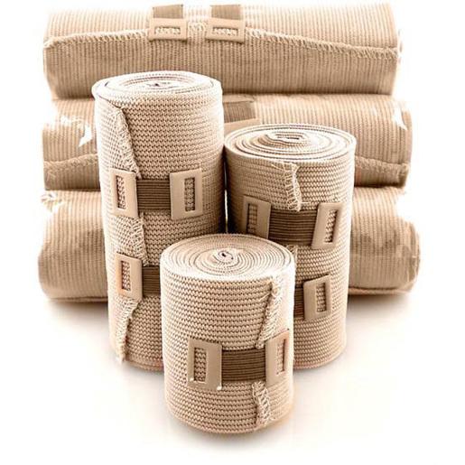 Elastic Bandage, Beige, 3in W x 5yd L
