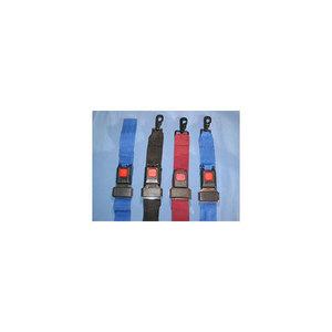 Stretcher Strap, 5ft L x 2in W, Orange, Polypropylene