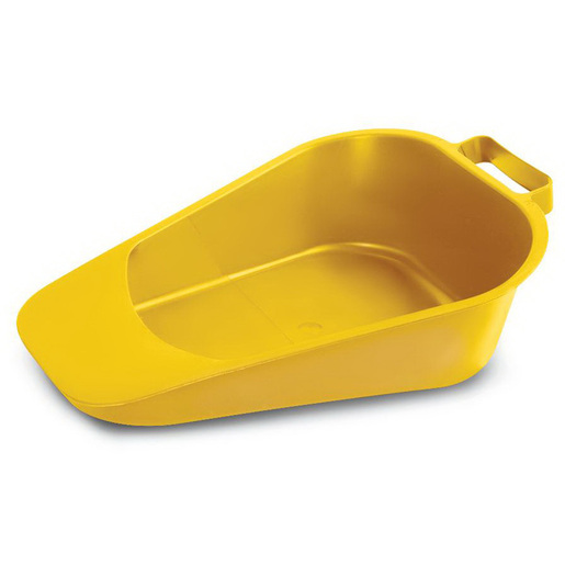 Fracture Bedpan, Disposable, Gold
