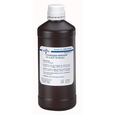 3% Hydrogen Peroxide, 1gal