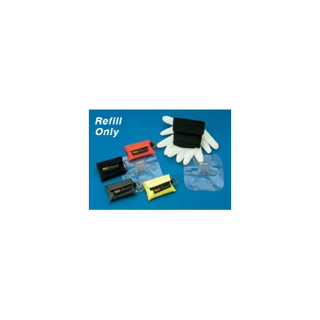 CPR Microholster Barrier Refill with Microshield, Nitrile Gloves