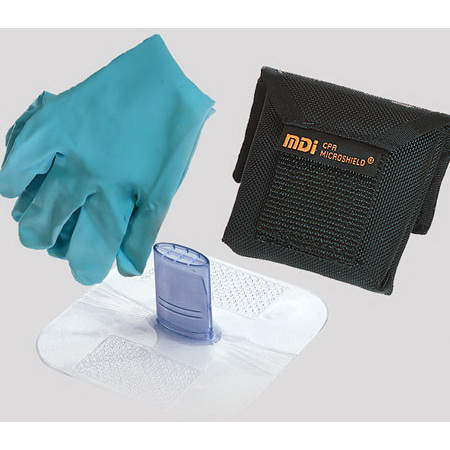 CPR Microshield Barriers with Microholsters