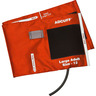 Adcuff™ Blood Pressure Cuff with 1 Tube Bladder, Size 12 Large Adult, Orange