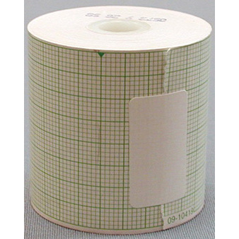 Medical Recording Chart Paper, 42mm x 52ft, Blue Grid