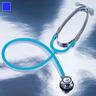 Proscope™ 675 Dual Head Pediatric Stethoscope, 31.5in L, Royal Blue