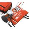 Pros Combo II™ Dual Head Pocket Aneroid/Scope Kit, Adult, Orange