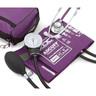 Pros Combo II™ Dual Head Pocket Aneroid/Scope Kit, Adult, Purple