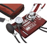 Pros Combo II™ SR Pocket Aneroid/Sprague Kit, Adult, Red