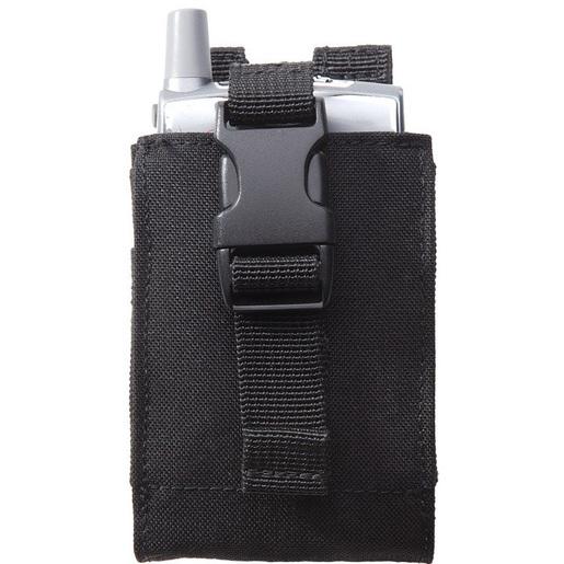 5.11® C5 Case, One Size, 3-3/4in H x 2-3/4in W x 7/8in D, Black, 1000D Nylon