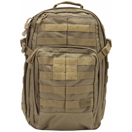 5.11® Rush12™ Backpack, 1476cu in, One Size, Sandstone, 1050D Nylon