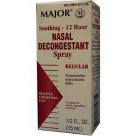 12hr Afrin Nasal Decongestant Spray, 0.05mg, 15mL