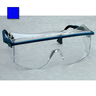 Astro OTG® 3001 Safety Glasses, Clear Lens, Blue Frame, Anti-Fog Coating