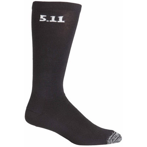 5.11® 3-Pack Socks, Black, 9in