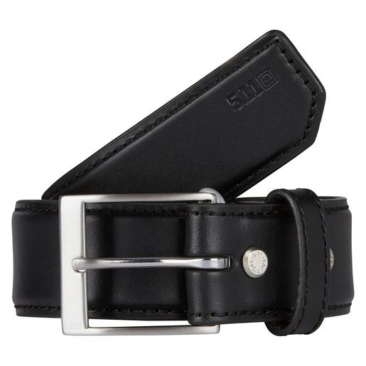 5.11 Men's Plain Leather Belts, Black