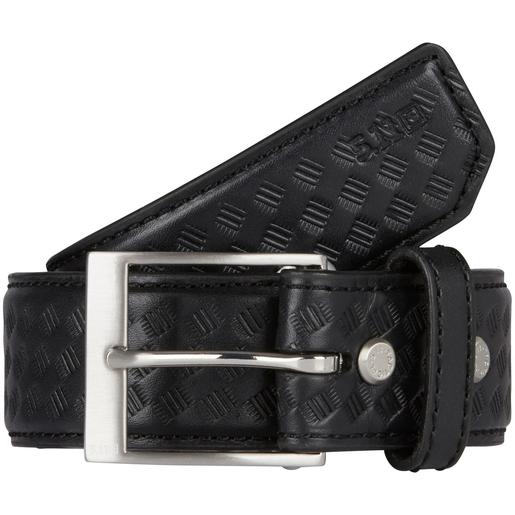 5.11 Men's Basketweave Leather Belts, Black