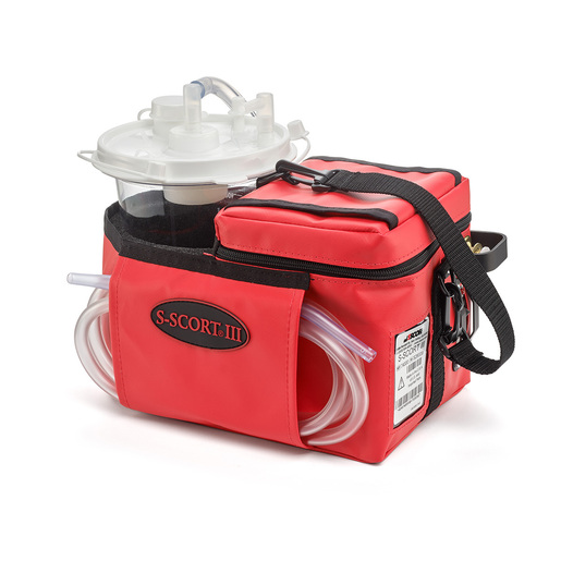S-SCORT® III Suction Unit with Vinyl Case, Red