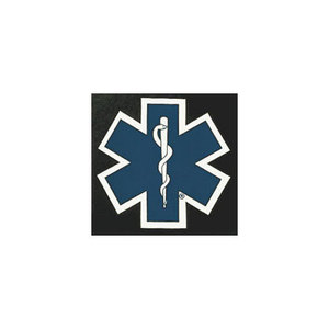 Star of Life Decal, 18in x 18in
