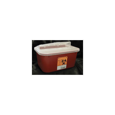 *Limited Quantity* Sharps Container, 4qt, Red