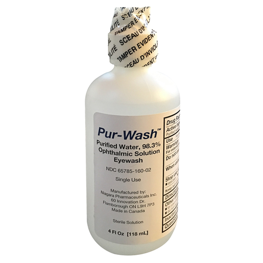Pur-Wash™ Eye Wash, 4oz Bottle