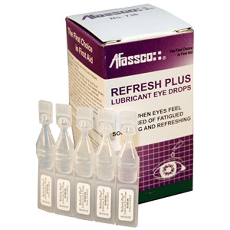 Refresh Plus Lubricant Eye Drops, Unit Dose Dropper