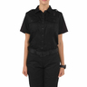5.11® Women's Twill PDU® Class A Short Sleeve Shirt, Regular, Black, XS