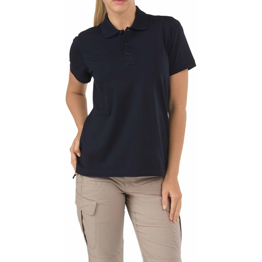 5.11 Women's Tactical Polo Shirts, Short Sleeve, Dark Navy