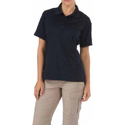 5.11 Women's Performance Polo Shirts, Short Sleeve, Dark Nav