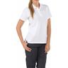 5.11® Women's Professional Short Sleeve Polo Shirt, White, Large