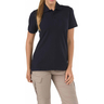 5.11® Women's Professional Short Sleeve Polo Shirt, Dark Navy, Large