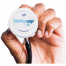SafeSEAL Stethocap Silver-Infused Stethoscope Cover, Adult, One Size, Red