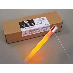 SnapLight® Ultra-High-Intensity Flare Alternative, 30min, 8in, Orange