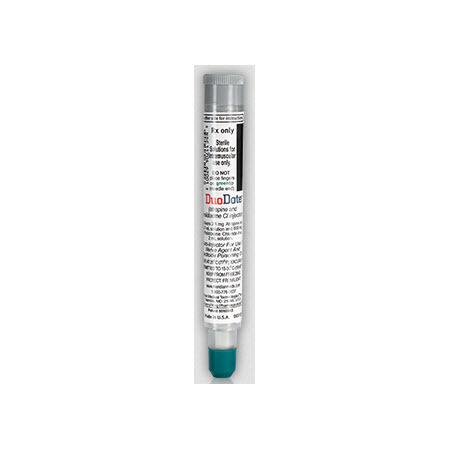 DuoDote (Atropine 2.1mg/0.7mL, Pralidoxime CHI 600mg/2mL) Auto-Injector Injection