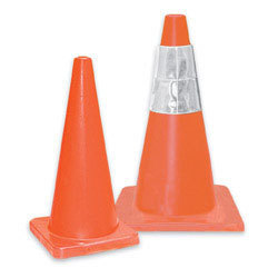 Hi-Viz® Orange Traffic Cone with #7 Base, 28in H