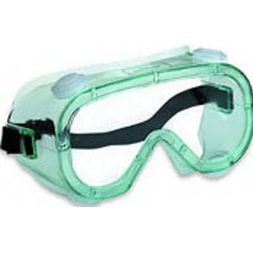 Uvex™ A600 Series Safesplash Safety Goggle, Clear Lens, Green Frame